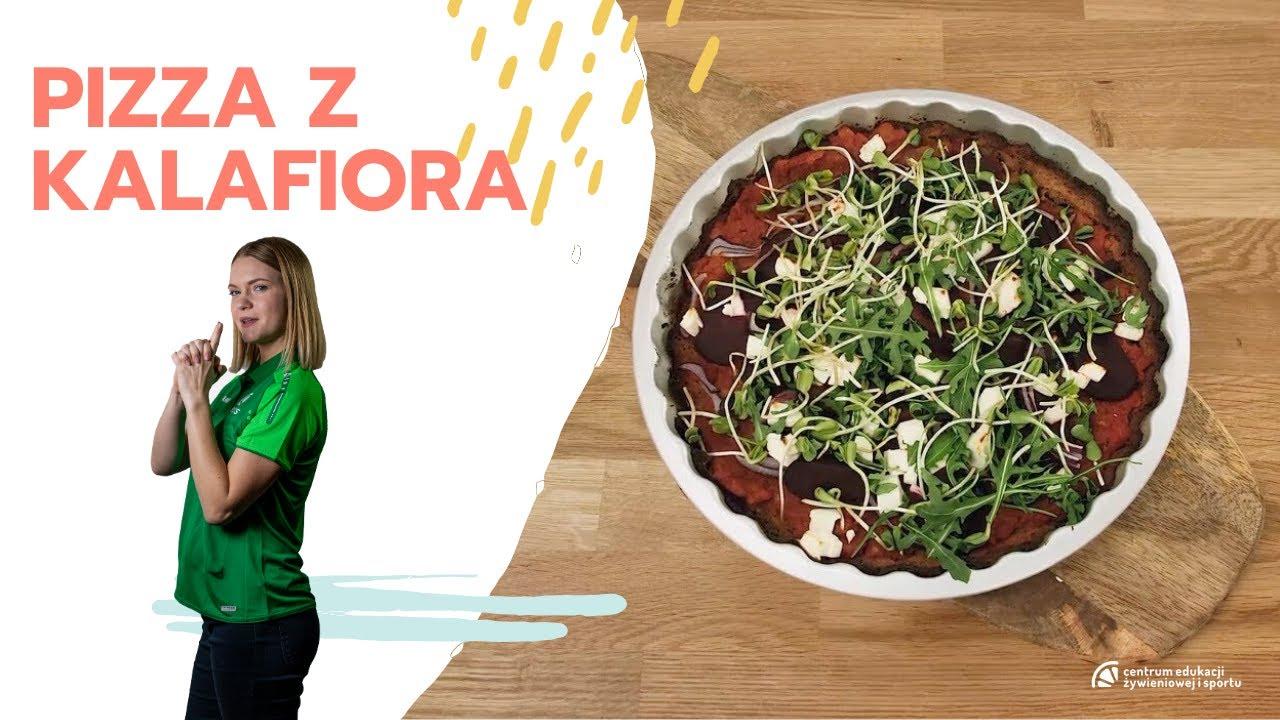 Kuchnia dla aktywnych – Pizza z kalafiora (wersja dla wegetarian)